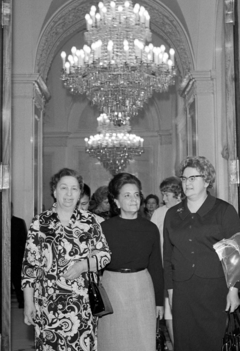 Luis Echeverria Alvarez visits USSR