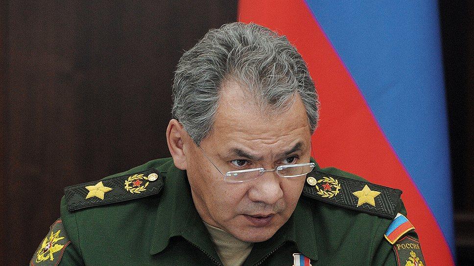 Шойгу: НАТО вынуждает нас принимать ответные меры оборонительного характера