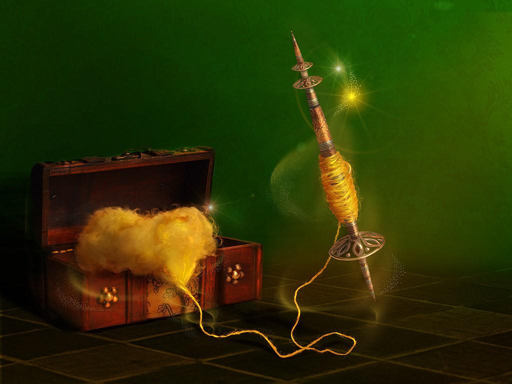 Магические свойства веретена