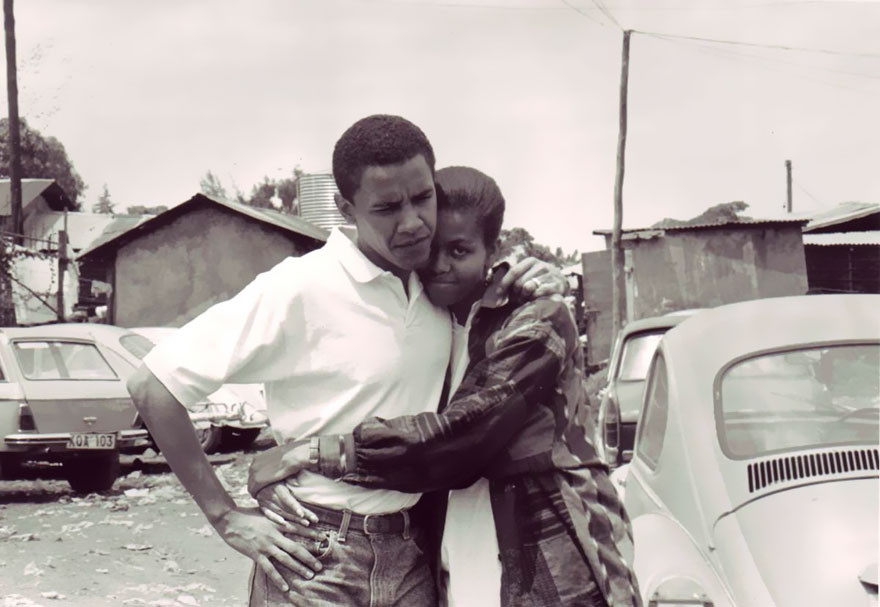 The Love Story Of Barack & Michelle Obama In Pictures
