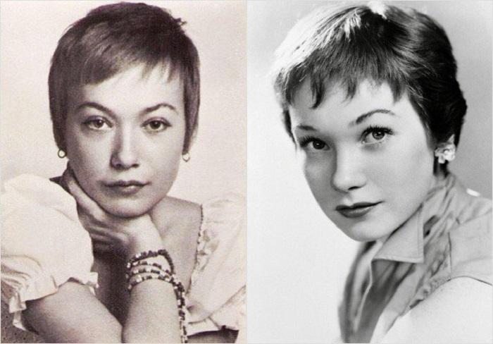 Елена Коренева и Ширли МакЛейн - красота из разных стран.