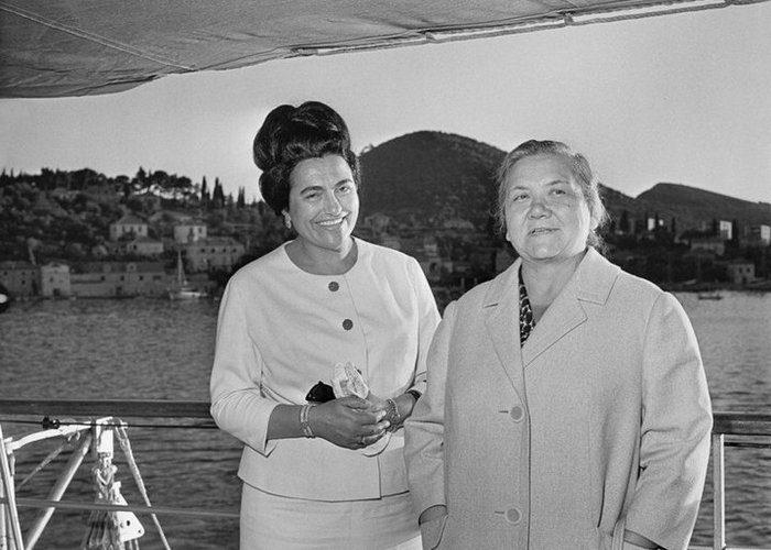 Нина Хрущева. Первые леди СССР и России — как они одевались