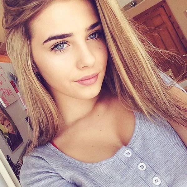 Подборка красивых девушек (50 фото)