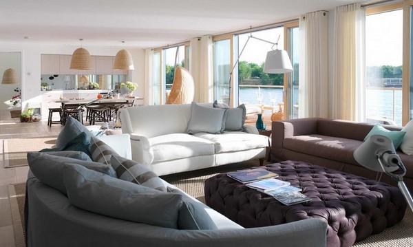 Большие окна в доме: возможности дизайна и оформления