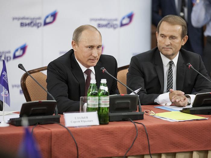 На Украине предложили захватить в заложники друга Путина