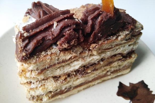 Быстрый тортик без выпечки — «Кофе с шоколадом». Справится даже ребенок!