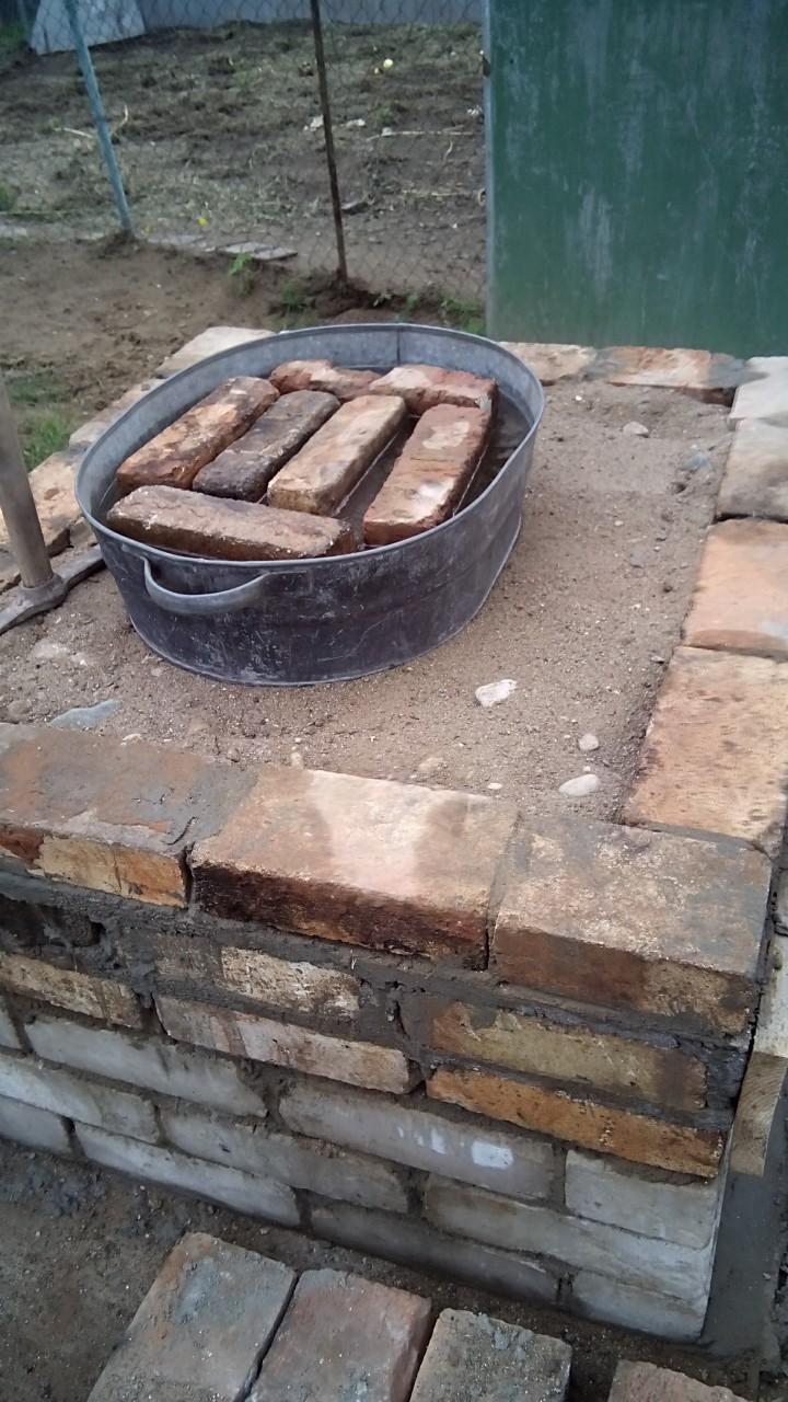 Уличная русская печь
