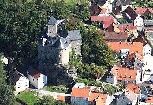 Крепость Фалькенберг, Германия (Burg Falkenberg)