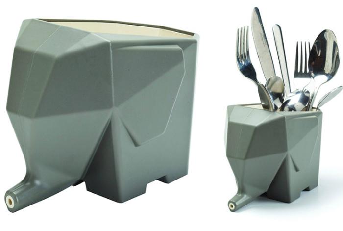 Подставка для ложек и вилок. | Фото: Rabbit Finance.