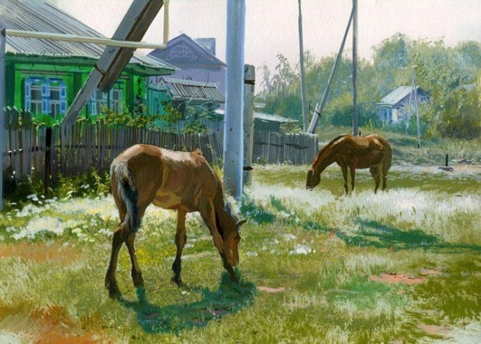 художник Григорий Лозинский картины - 05