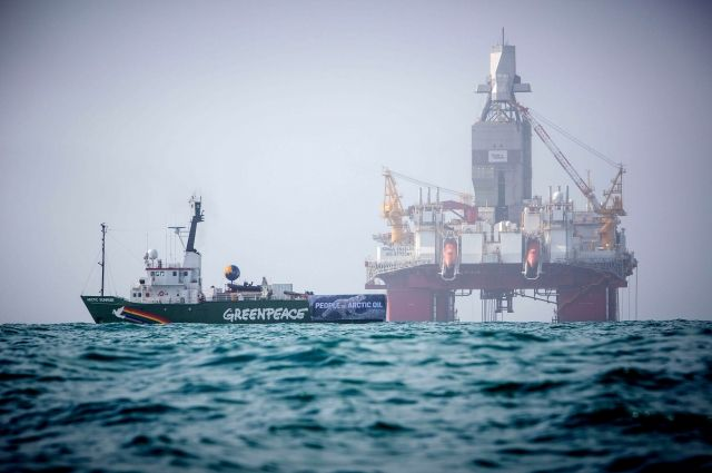 В Норвегии задержали российскую активистку Greenpeace