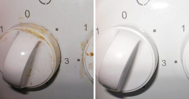 Как легко очистить ручки плиты. Тебе понадобится 1 бюджетное аптечное средство…