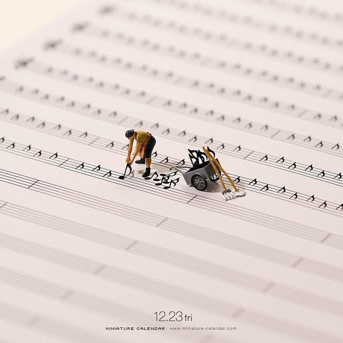 Миниатюрные диорамы японского художника Татсуя Танака
