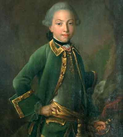 Иван Аргунов. Портрет графа Николая Петровича Шереметева в детстве. 1765 г.