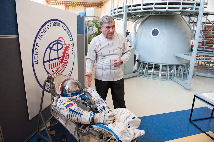 как готовят астронавтов