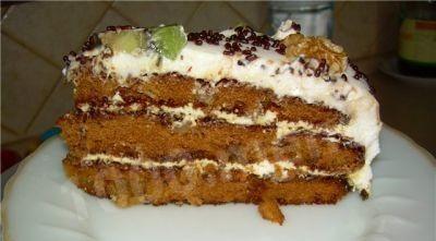 Торт «Татьяна» — домашний тортик для любителей простых рецептов!