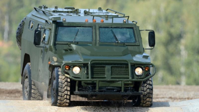 Словакия планирует закупить российские бронеавтомобили «Тигр»