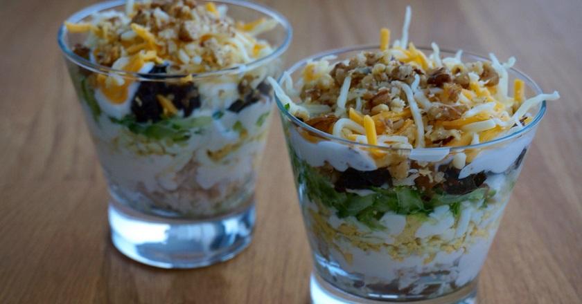Потрясающий салат, который, скорее всего, придется вам по вкусу