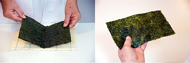 Как приготовить суши: Темаки-суши
