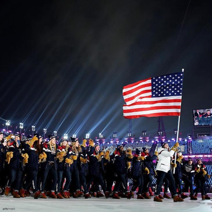 Ralph Lauren сделал олимпийской сборной США куртки из будущего