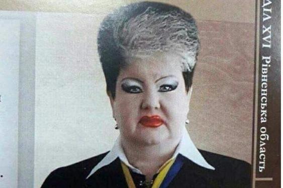"""Украинская судья объяснила макияж """"под Джокера"""" спешкой"""