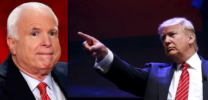 Трамп: Маккейн разучился побеждать