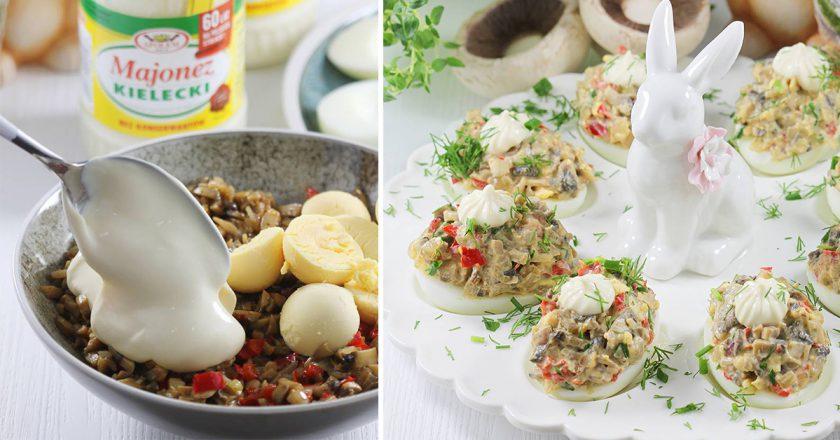 Фаршированные яйца с грибами: украшение для праздничного стола за считанные минуты