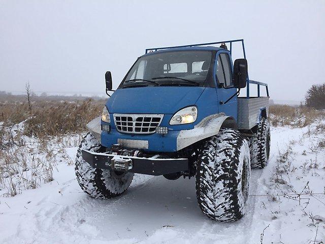 Снегоболотоход Сергач.