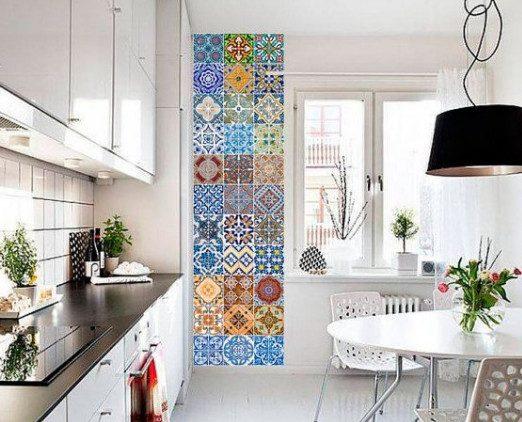 Отличный простой способ обновить плитку на кухне!