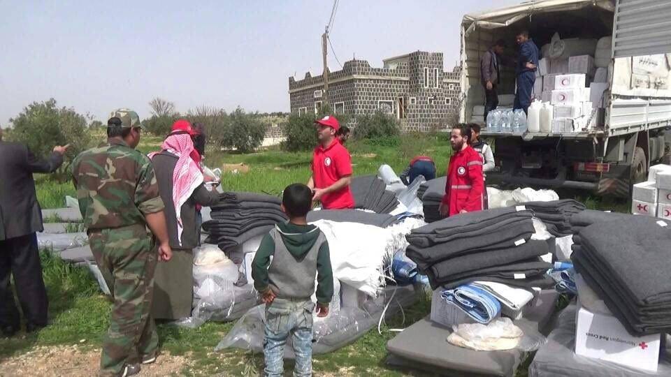 Курды вновь не пустили гуманитарную помощь в Хаджин
