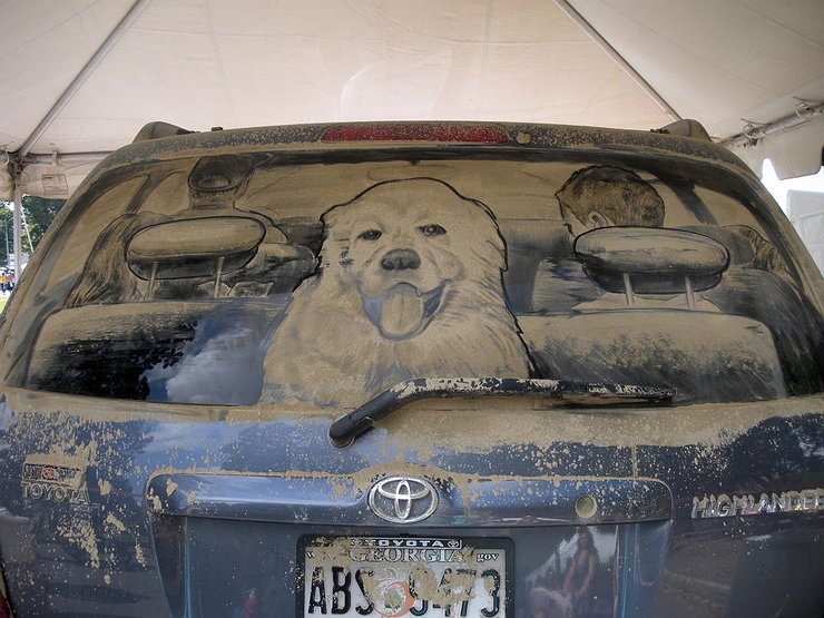 Почему грязный автомобиль расходует меньше топлива