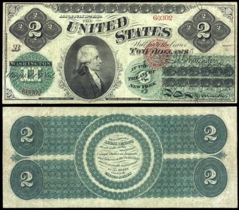 Двухдолларовая купюра стоимость советские рубли стоимость каталог