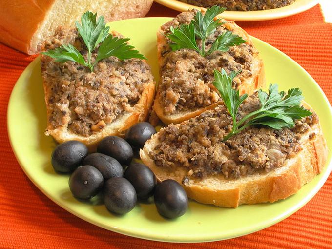 Что приготовить постного: грибная икра с орехами