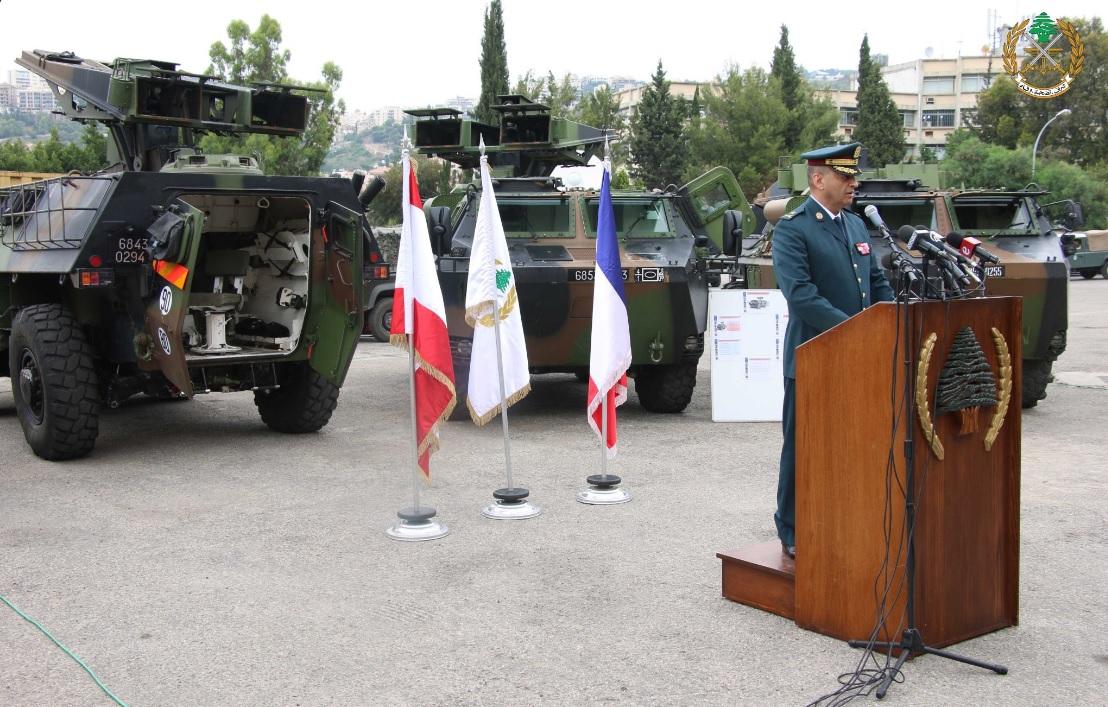 Ливан получил французские самоходные ПТРК VCAC Mephisto