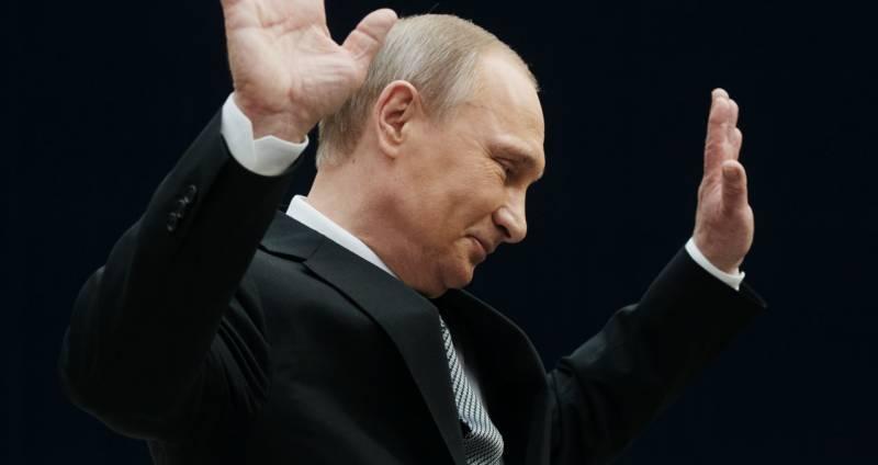 Мне лично поздравление Путин…