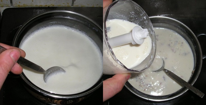 мороженое в мороженице без сливок