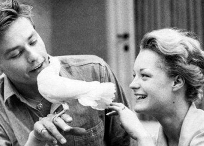Ален Делон и Роми Шнайдер: «Нет ничего холоднее мертвой любви...»