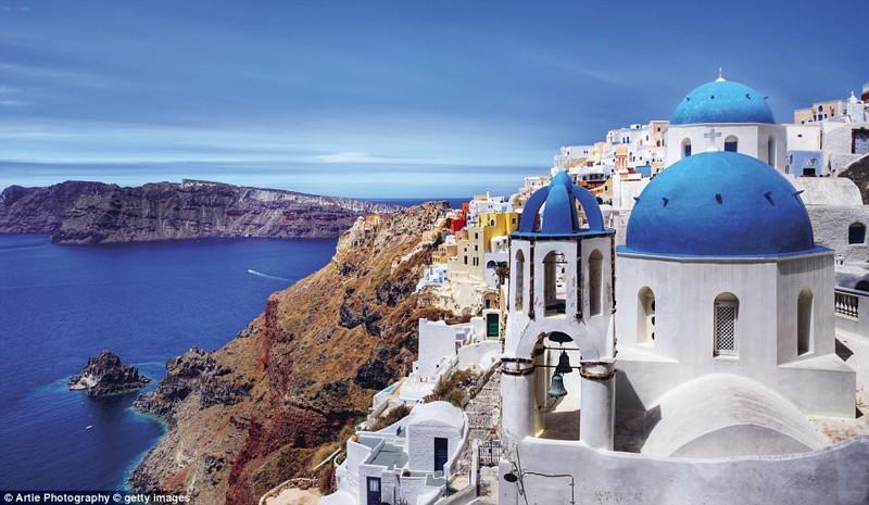 Остров Санторини, Греция красиво, планета, природа, путеводитель, путешествия, туризм, фото, чудо природы