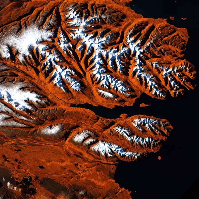 Landsatprogramme 15 Фото со спутника   Земля как произведение искусства