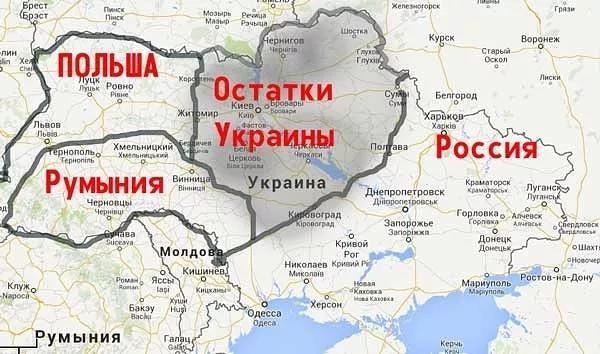 Восточная Европа к разделу Украины готова