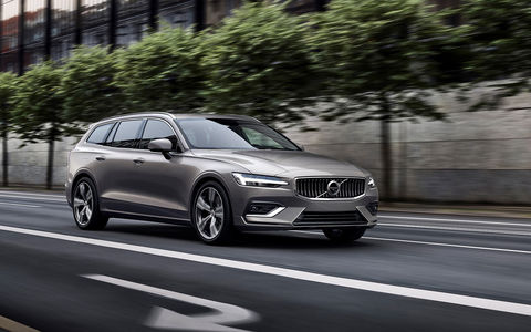 Новый Volvo V60: семейный, р…