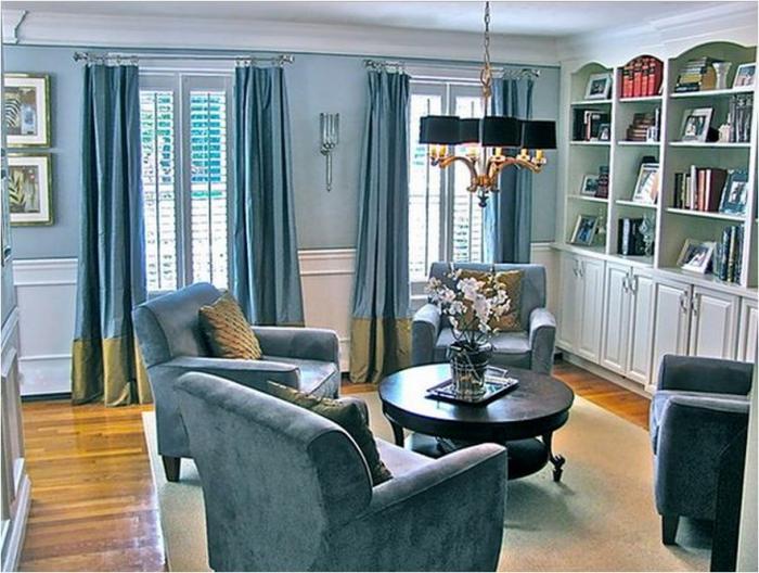 Мебель в интерьере (5 фото)
