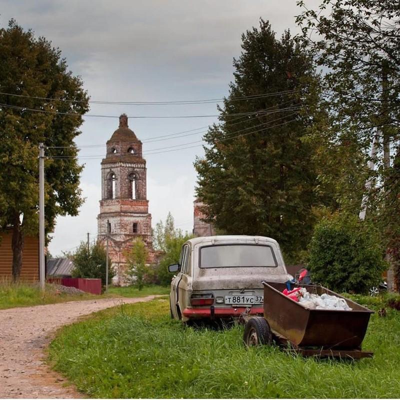 Село Колбацкое, Ивановская область глубинка, деревня, красиво, лес, россия, село, фото