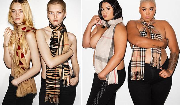 Обычные женщины с пышными формами воссоздали модную рекламу, и это прекрасно