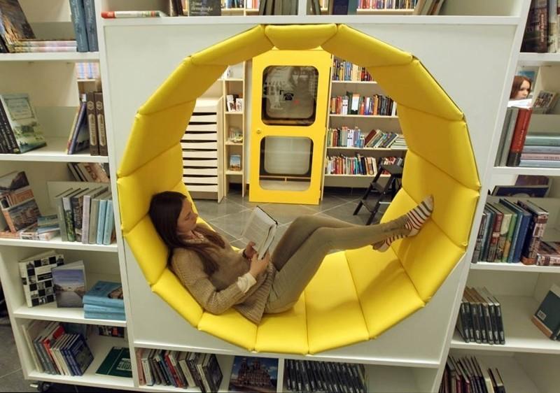 Бесплатная библиотека в Санкт-Петербурге, которая способна удивить