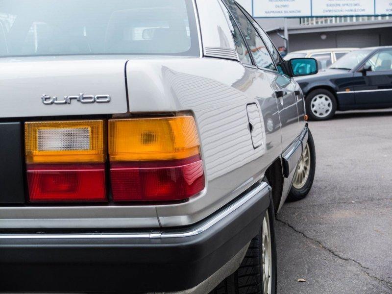Audi 100 Turbo C3 «Сигара»: живая легенда из 80-х