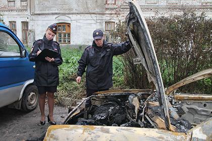 Костромич с подругой подожгли три машины и дом и сделали селфи
