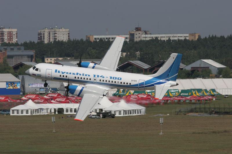 ОАК разместит окончательную сборку самолета Ил-114 на производственной площадке НАЗ «Сокол»