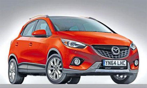 Новый кроссовер Mazda CX-3 появится в 2014 году
