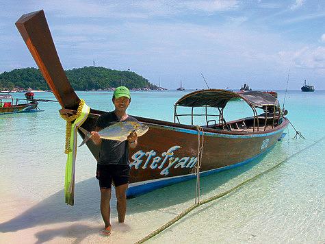 Рыбацкие приключения на севере Таиланда
